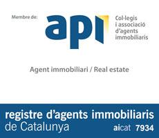 Registre d'agents immobiiliaris de Catalunya aicat 7934